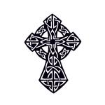 Переводная тату «Кельтский крест»