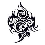 Переводная татуировка «Абстракция»