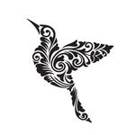 Переводная птица «Узор»