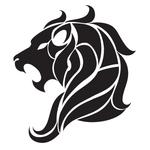 Переводная тату зодиак «Лев»